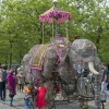 Harminder the Elephant and Hilary the Triceratops, homeless!