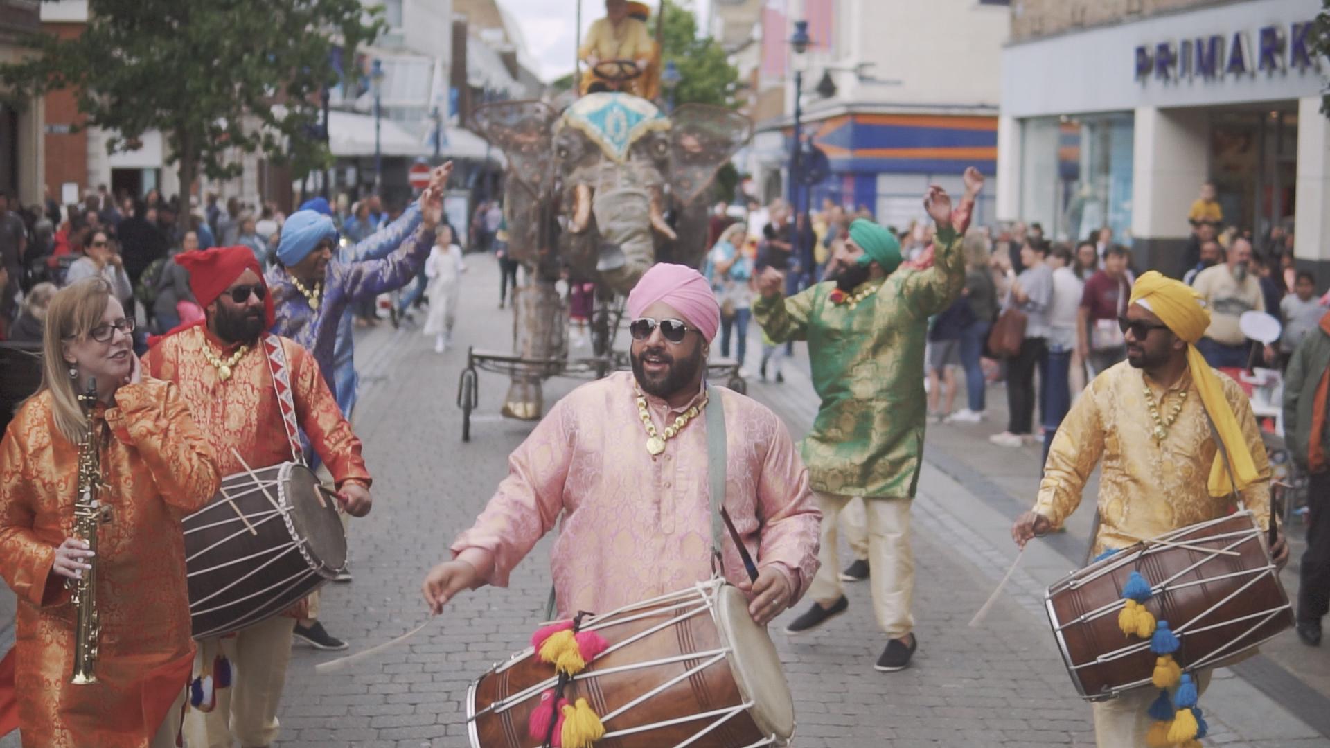 Dancing Maharajas – Fusion Festival 2019